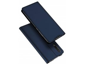 eng pl Dux Ducis skin leather flip case XIAOMI MI A3 navy blue 64005 1