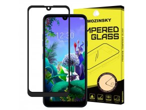 eng pl Wozinsky Tempered Glass Full Glue Super Tough Screen Protector Full Coveraged with Frame Case Friendly for LG Q60 LG K50 black 52250 1