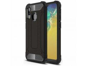 eng pl Hybrid Armor Case Tough Rugged Cover for Samsung Galaxy A20e black 51872 1