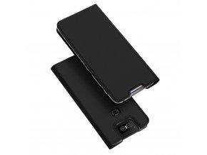 eng pl DUX DUCIS Skin Pro Bookcase type case for Asus Zenfone 6 ZS630KL black 51245 1