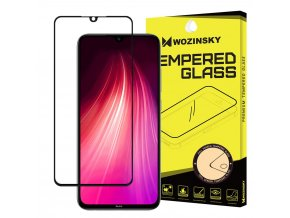 eng pl Wozinsky Tempered Glass Full Glue Super Tough Screen Protector Full Coveraged with Frame Case Friendly for Xiaomi Redmi Note 8 black 53281 1