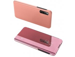 eng pl Clear View Case cover for Xiaomi Mi CC9e Xiaomi Mi A3 pink 54140 9