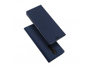 eng pl DUX DUCIS Skin Pro Bookcase type case for Sony Xperia 1 blue 48287 1