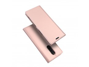 eng pl DUX DUCIS Skin Pro Bookcase type case for Sony Xperia 1 pink 48289 1