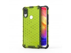 eng pl Honeycomb Case armor cover with TPU Bumper for Xiaomi Redmi Note 7 green 53891 1