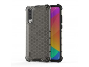 eng pl Honeycomb Case armor cover with TPU Bumper for Xiaomi Mi CC9e Xiaomi Mi A3 black 53894 1
