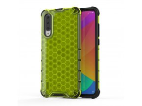 eng pl Honeycomb Case armor cover with TPU Bumper for Xiaomi Mi CC9e Xiaomi Mi A3 green 53896 1
