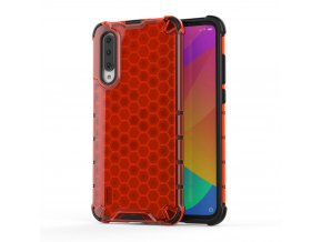 eng pl Honeycomb Case armor cover with TPU Bumper for Xiaomi Mi CC9e Xiaomi Mi A3 red 53897 1