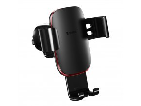 eng pl Baseus Metal Age Gravity Car Mount Phone Holder for Air Outlet black SUYL D01 46821 1