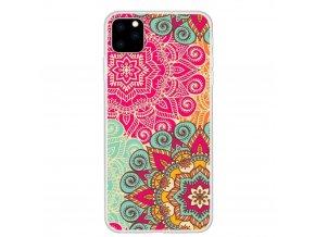 eng pl Slim case Art IPHONE 11 colorized mandala flower 64589 1