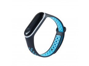 eng pl Replacment band strap for Xiaomi Mi Band 4 Mi Band 3 Dots black blue 54235 3