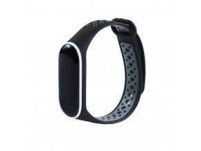 eng pl Replacment band strap for Xiaomi Mi Band 4 Mi Band 3 Dots black grey 54236 3