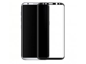 3D tvrzené sklo na Samsung S8 černé