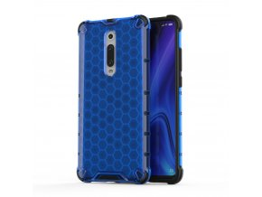 eng pl Honeycomb Case armor cover with TPU Bumper for Xiaomi Mi 9T Xiaomi Mi 9T Pro blue 53870 1