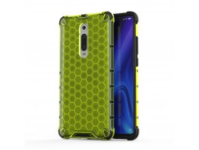 eng pl Honeycomb Case armor cover with TPU Bumper for Xiaomi Mi 9T Xiaomi Mi 9T Pro green 53871 1