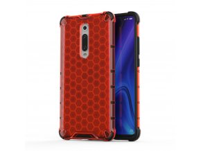 eng pl Honeycomb Case armor cover with TPU Bumper for Xiaomi Mi 9T Xiaomi Mi 9T Pro red 53872 1