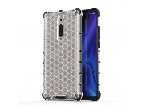 eng pl Honeycomb Case armor cover with TPU Bumper for Xiaomi Mi 9T Xiaomi Mi 9T Pro transparent 53873 1