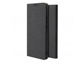 eng pl Fabric Flip Bookcase type case for Xiaomi Redmi Note 8 Pro black 55115 3