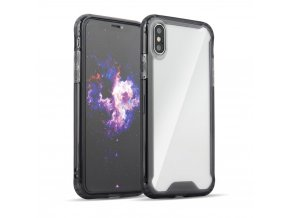 eng pl Clear Armor PC Case with TPU Bumper for LG G8 ThinQ black 50956 1