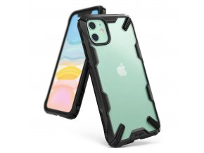 eng pl Ringke Fusion X Matte durable PC Case with TPU Bumper for iPhone 11 black XMAP0001 54736 1