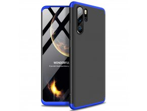 eng pl GKK 360 Protection Case Front and Back Case Full Body Cover Huawei P30 Pro black blue 48845 1