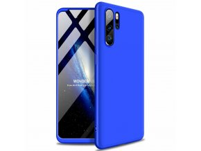 eng pl GKK 360 Protection Case Front and Back Case Full Body Cover Huawei P30 Pro black blue 48845 4
