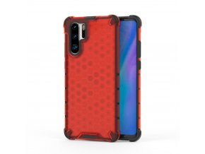 eng pl Honeycomb Case armor cover with TPU Bumper for Huawei P30 Pro red 53882 1