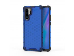 eng pl Honeycomb Case armor cover with TPU Bumper for Huawei P30 Pro blue 53880 1