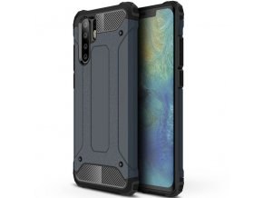 eng pl Hybrid Armor Case Tough Rugged Cover for Huawei P30 Pro blue 46569 1