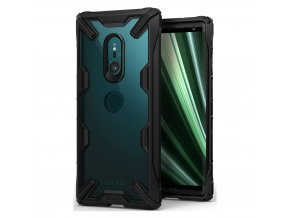 eng pl Ringke Fusion X durable PC Case with TPU Bumper for Sony Xperia XZ3 black FXSN0001 RPKG 45843 1