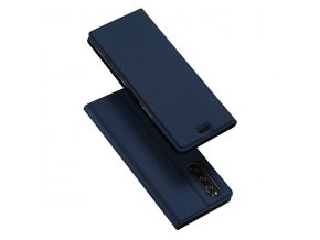 eng pl DUX DUCIS Skin Pro Bookcase type case for Sony Xperia 5 blue 55095 1