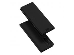 eng pl DUX DUCIS Skin Pro Bookcase type case for Sony Xperia 5 black 55094 1