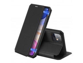 eng pl DUX DUCIS Skin X Bookcase type case for iPhone 11 black 55102 1