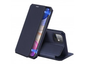 eng pl DUX DUCIS Skin X Bookcase type case for iPhone 11 blue 55103 1
