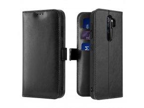 eng pl Dux Ducis Kado Bookcase wallet type case for Xiaomi Redmi Note 8 Pro black 55099 1