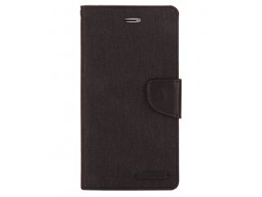PU kožené pouzdro na iPhone 7 Plus / iPhone 8 Plus - černé