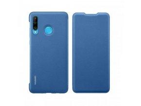 pol pl Huawei Wallet Cover etui kabura bookcase z kieszonka na karte Huawei P30 Lite niebieski 51993080 50385 5