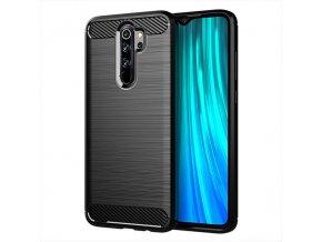 pol pl Carbon Case elastyczne etui pokrowiec Xiaomi Redmi Note 8 Pro czarny 53274 6