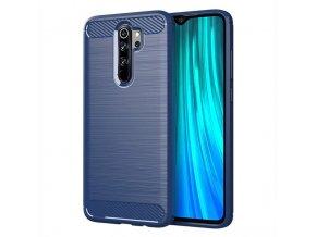 pol pl Carbon Case elastyczne etui pokrowiec Xiaomi Redmi Note 8 Pro niebieski 54934 1