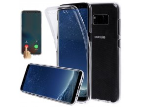 360 Full Transparent Case For Samsung Galaxy S10 S10E S9 S8 Plus A10 A30 A40S A40