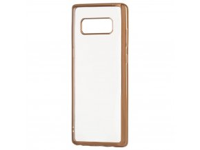 eng pl Metalic Slim case for Sony Xperia XZ2 golden 39622 1