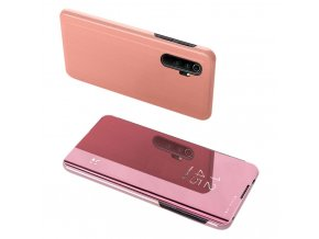 eng pl Clear View Case cover for Xiaomi Mi Note 10 Mi Note 10 Pro Mi CC9 Pro pink 56007 1
