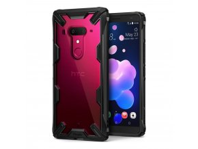 eng pl Ringke Fusion X durable PC Case with TPU Bumper for HTC U12 Plus black FUHT0001 41519 1