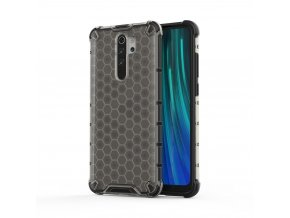 eng pl Honeycomb Case armor cover with TPU Bumper for Xiaomi Redmi Note 8 Pro black 55399 1