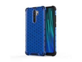 eng pl Honeycomb Case armor cover with TPU Bumper for Xiaomi Redmi Note 8 Pro blue 55398 1 – kópia