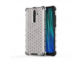 eng pl Honeycomb Case armor cover with TPU Bumper for Xiaomi Redmi Note 8 Pro transparent 55395 1