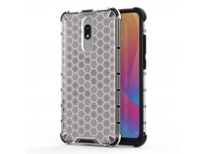 eng pl Honeycomb Case armor cover with TPU Bumper for Xiaomi Redmi 8A Xiaomi Redmi 8 transparent 55400 1