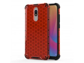 eng pl Honeycomb Case armor cover with TPU Bumper for Xiaomi Redmi 8A Xiaomi Redmi 8 red 55402 1