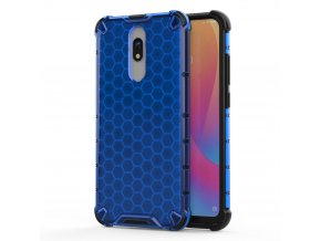 eng pl Honeycomb Case armor cover with TPU Bumper for Xiaomi Redmi 8A Xiaomi Redmi 8 blue 55403 1