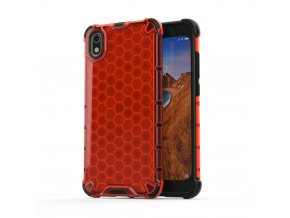 eng pl Honeycomb Case armor cover with TPU Bumper for Xiaomi Redmi 7A red 53887 1